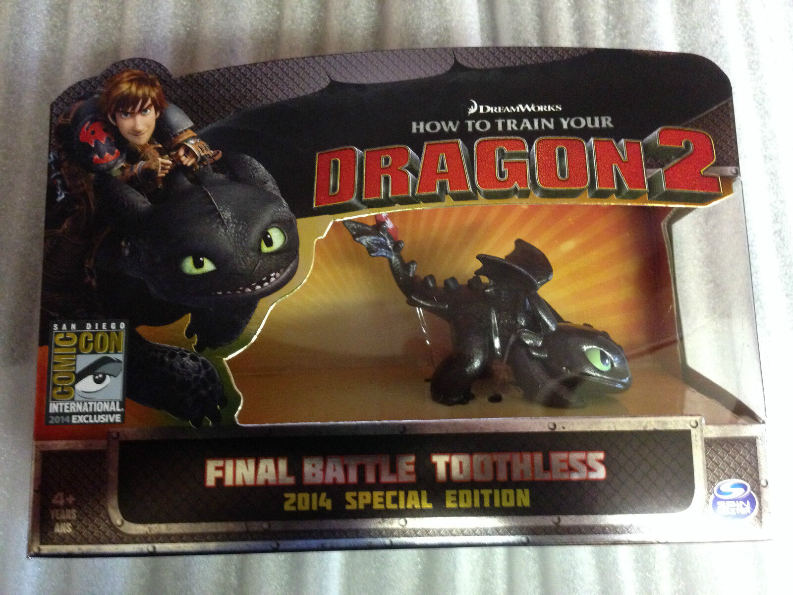 San Diego comic-con 2014 tren Your Dragon 2 How To Battle Toothless Exclusive RARE SOLD Final