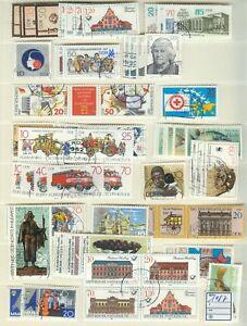 DDR-Jahrgang-1987-gestempelt-Auswahl-aus-Michel-Nr-3063-3139