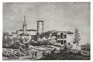 D0972 Mantova - Borgo Virgilio - Forte di Pietole - Stampa del 1929 - Old Print