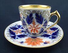 Antique Porcelain Pirkenhammer Austria Demitasse Bohemia Cup and Saucer