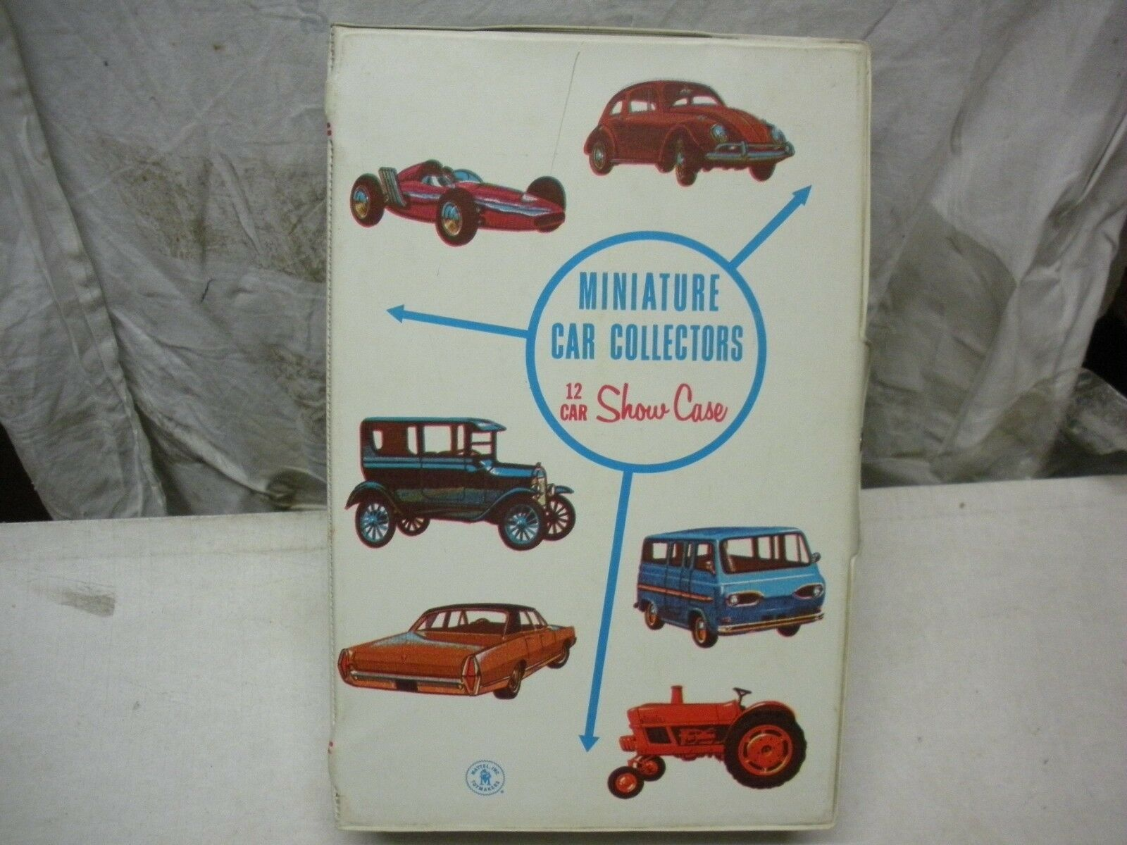 VINTAGE 1966 ( ) VERY RARE SHOW CASE FOR 12 MINIATURE CARS by MATTEL NEAR MINT