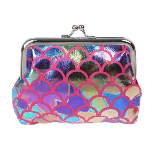 Women Sequins Wallet Card Holder Hasp Coin Purse Clutch Handbag Clutch Money Bag