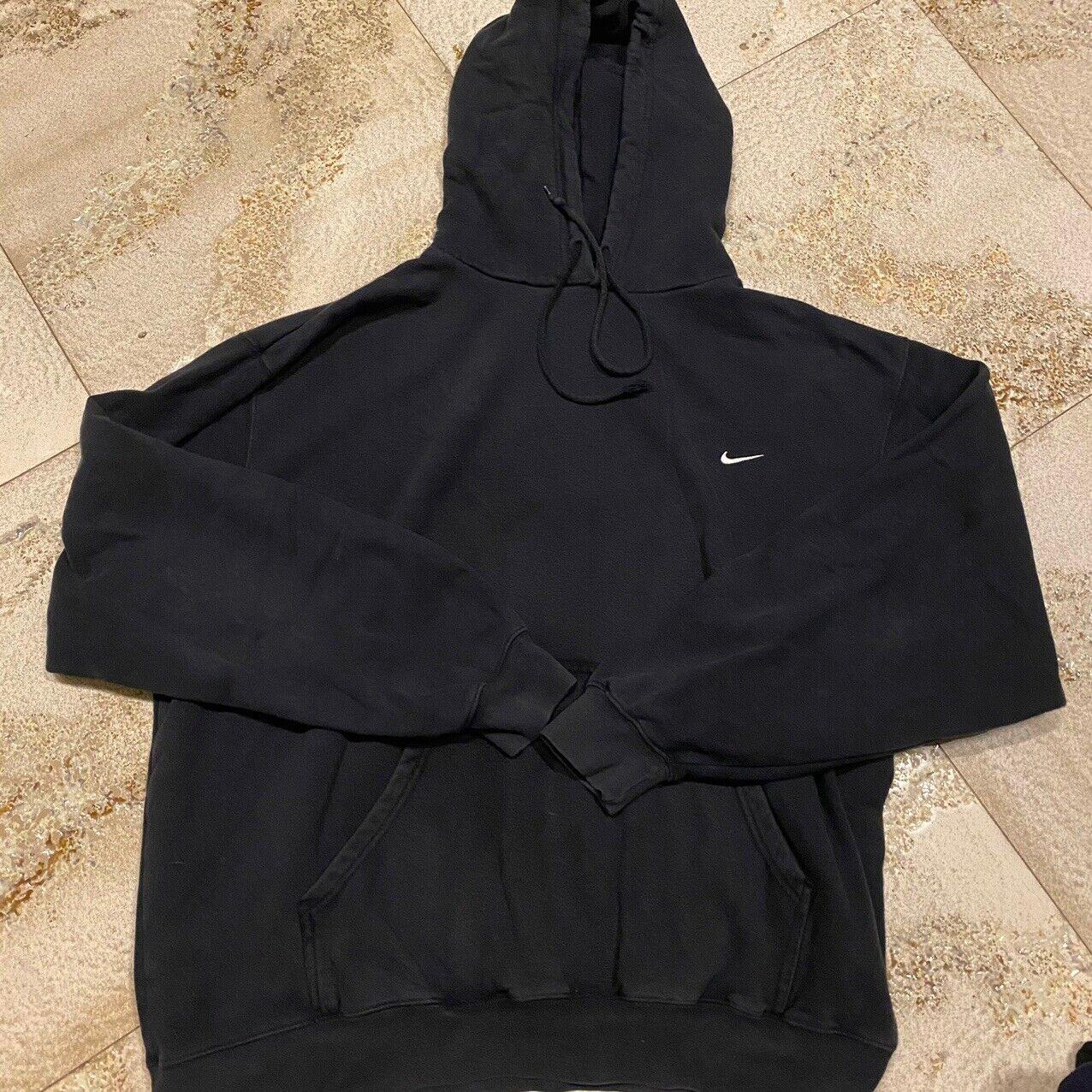 Vintage Nike Check Swoosh Hoodie Travis Scott 90s… - image 1