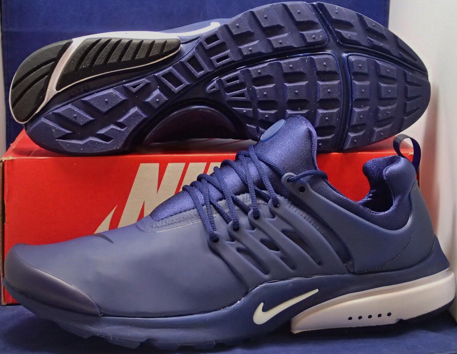 Nike Luft Luft Luft Presto Niedrig Utility Binary Blau Weiß Schwarz Größe 14 (862749-400) 7c747f