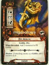 Lord of the Rings LCG - 1x PIT Goblin #006 - Nightmare Deck Khazad-Dum