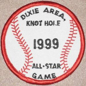 Dixie Area, Knot Hole 1999 All-Star Game Patch Kentucky