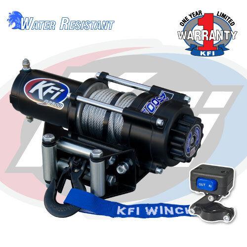 /& Gen 6 2000 lb KFI Winch Mount Combo Polaris Sportsman 400 500 600 700 GEN 4