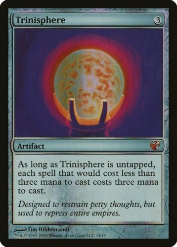 Trinisphere FOIL From the Vault Exiled MINT Artifact MAGIC MTG CARD ABUGames