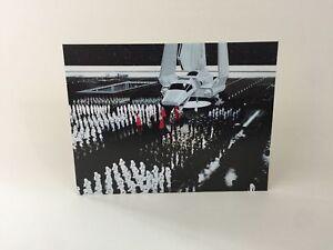 Bon CœUr Custom Vintage Star Wars Navette Toile De Fond Pour Ikea Detolf Vitrine-afficher Le Titre D'origine Un Style Actuel