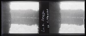 Italia-Lac-Carezza-Catinaccio-1937-Negativo-Foto-Stereo-Placca-Da-Lente-VR12nd