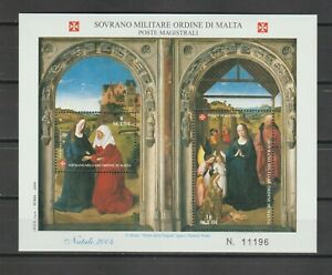 s39266 SMOM 2004 MNH** Natale BF s/s D. Bouts