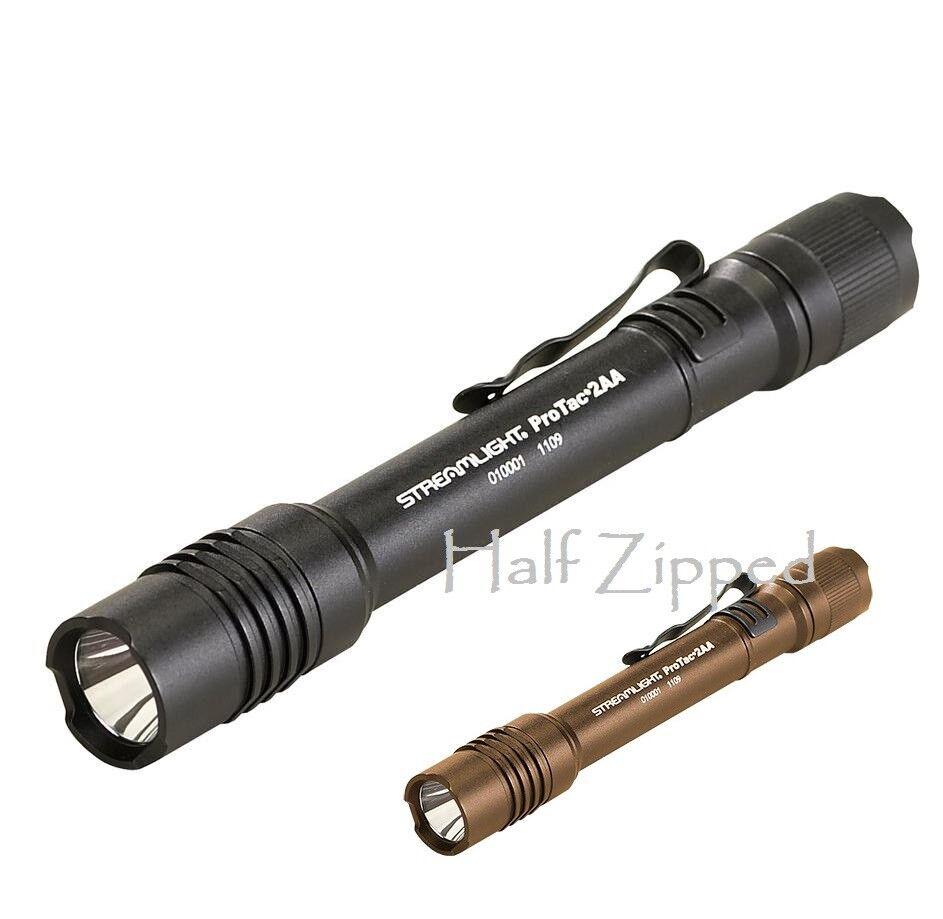 Streamlight ProTac 2AA 250 HIGH HIGH HIGH PERFORMANCE ALKALINE FLASHLIGHT 88072 83c354