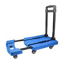Apollolift Folding Cart 440lbs Hand Truck 6 Wheels Dolly Platform Truck Trolley