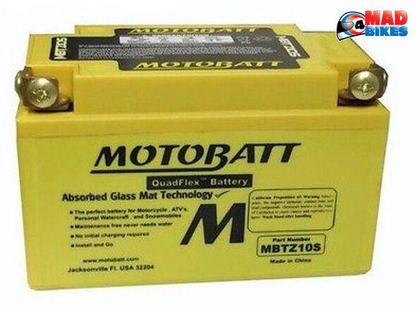 Honda CB500X Motobatt Libre de Mantenimiento Mejora Batería 20% Potencia Extra