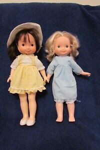 Two-Vintage-Fisher-Price-My-Friend-Dolls-Jenny-and-Mandy