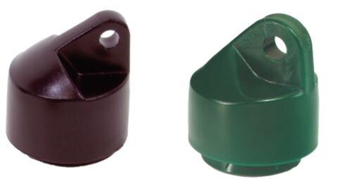 GAH Alberts Strebenkappe grün oder anthrazit für Streben Maschendraht Zaun