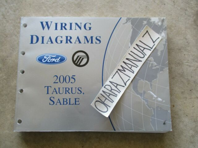 2005 Ford Taurus Mercury Sable Oem Wiring Diagrams Manual