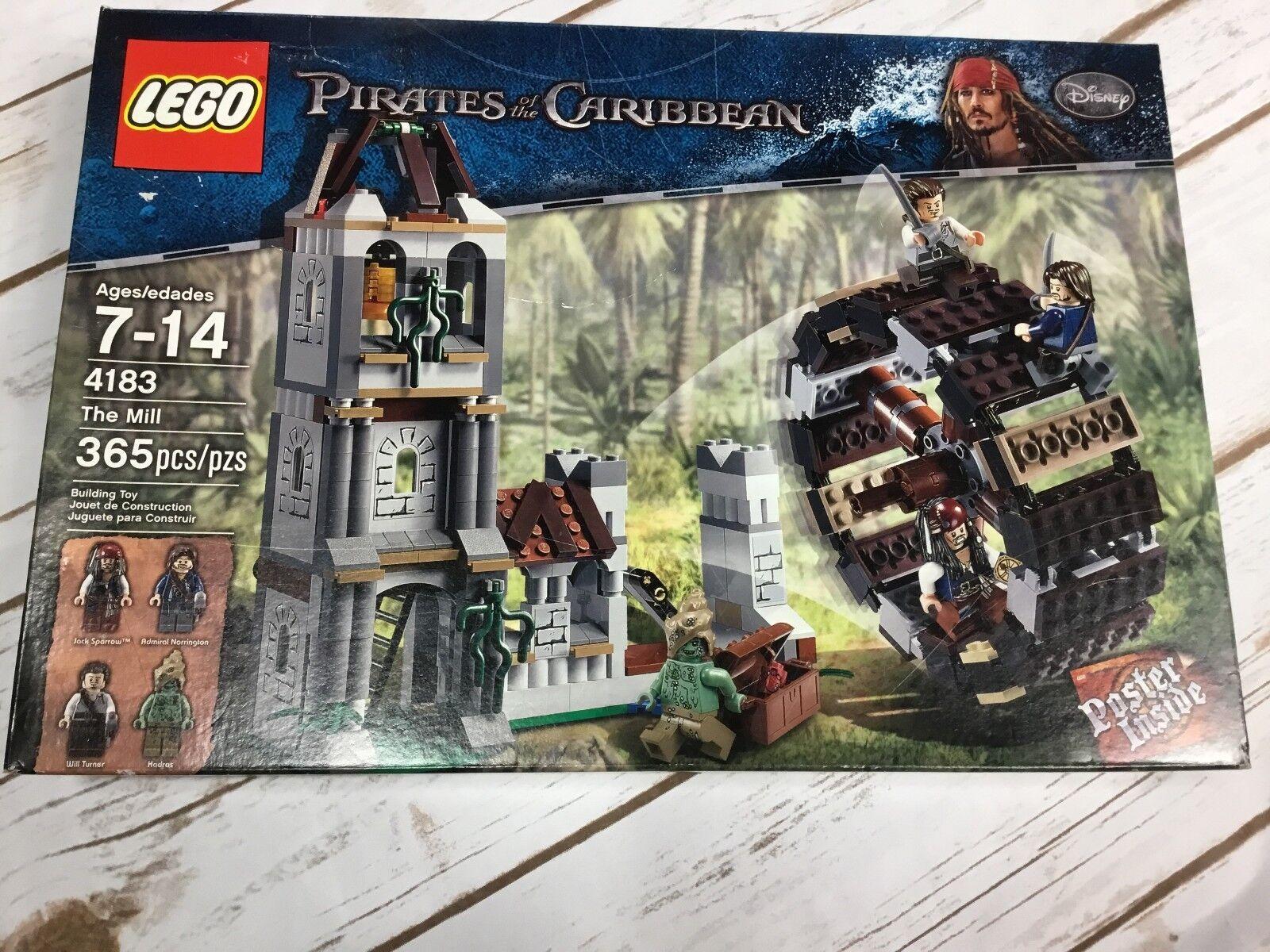 nuovo Sealed scatola  LEGO 4183 The Mill Pirates  of the autoibbean  Set  ci sono più marche di prodotti di alta qualità
