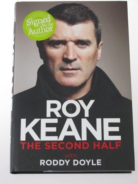 Roy Keane Mano Firmado Auto Biografía Libro