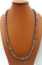 Collier Lithothérapie Minéraux Perle de Culture Noire Bijoux en Pierre Naturel