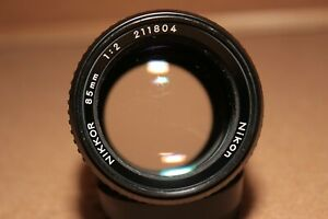 Nikon-Nikkor-AI-85mm-f2-Lens-READ