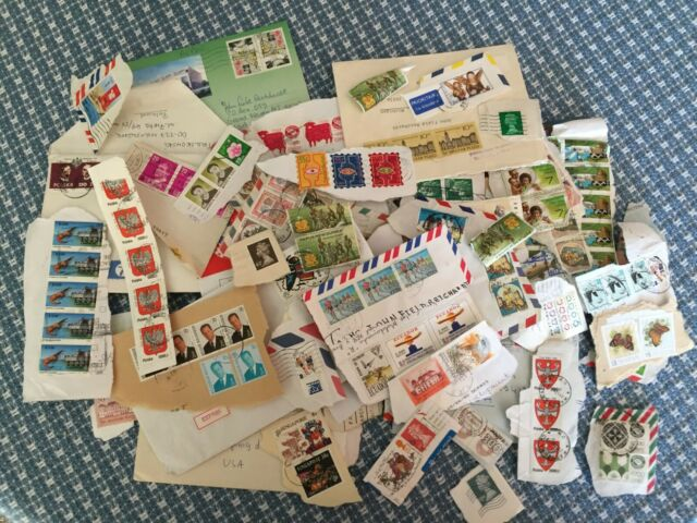 320 cancelled stamps, 319 of which are non-USA