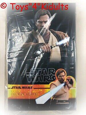 Hot Toys Mms 477 Star Wars Iii Revenge Of The Sith Obi Wan Kenobi Ewan Mcgregor Ebay