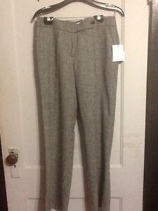 Nwt Calvin Klein Wool Blend Classic Fit Dress Pants Women Size 4x30 664740 Ebay