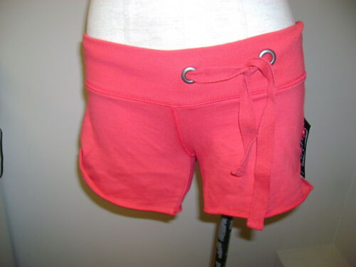 Lucky Brand Side Drawstring Shorts Red NWT $39.50