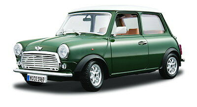 MINI COOPER 1:16 Diecast Metal Model Toy Car Die Cast Models Choose Red or Green