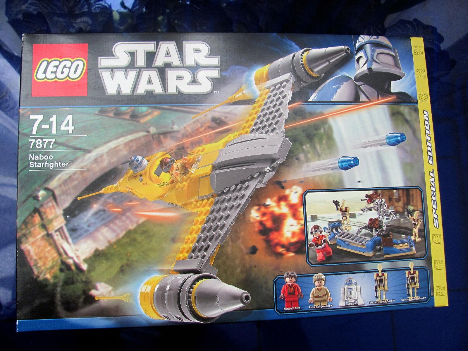 Lego Star Wars Naboo Starfighter 7877 NEU + OVP