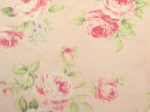 33-034-Remnant-Cottage-Shabby-Chic-Quilt-Gate-RURU-Love-Rose-Love-RU2300-13B-Pink