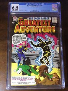 My-Greatest-Adventure-80-1963-1st-Doom-Patrol-CGC-6-5-Key