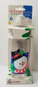 LUV-N-CARE-Collectible-Plastic-Nurser-Baby-Bottle-2002-Frosty-the-Snowman-NOS