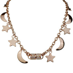 Kirks-Folly-Charming-Moon-And-Star-Magnetic-Interchangeable-Necklace-Rose-Gold