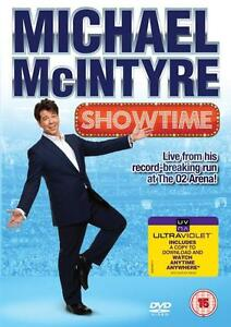 Details about MICHAEL McINTYRE SHOWTIME Live Stand-Up Comedy Performance O2  London DVD *EXC*
