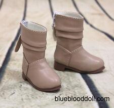 1/3 bjd girl doll tan boots shoes SD13/16 EID SID dollfie dream #S-108 ship US