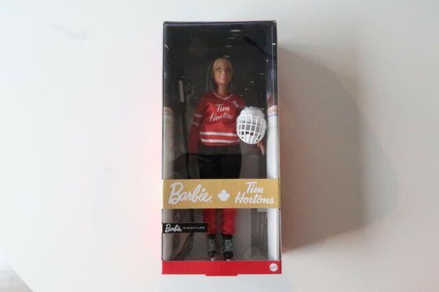 "Mattel Barbie Tim Hortons Hockey Player 2020 Signature 12"" Doll Canada Exclusive"
