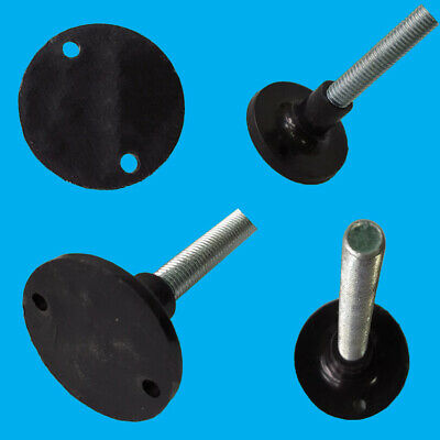 6x M10 Levelling Foot 280mm x 41mm Thread Surface Mountable Adjustable Feet