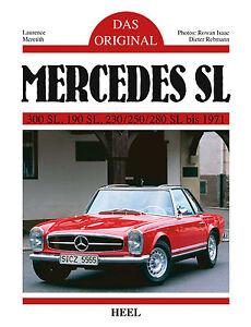 Mercedes-300-190-SL-230-250-280-bis-1971-Restaurierung-Pagode-das-Original-Buch