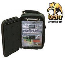 Behr Angelrucksack Back Pack de Luxe Angeltasche Angelkoffer spritzwasserfest