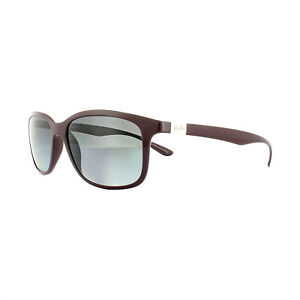 dc9eb003f5 Image is loading Ray-Ban-Sunglasses-4215-6128T3-Violet-Grey-Gradient-