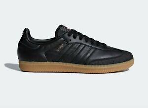 Trainers Ortholite Black Leather UK
