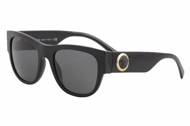 1cf832506cec Versace VE4359 GB1 87 55mm Sunglasses Black   Grey Lens (THE CLANS)