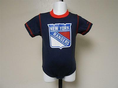 Reebok Bodysuit To Help Digest Greasy Food New York Rangers Infants Size 18 Months 18m New-mended