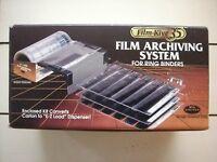 Film-kive 35 35mm Negative And Slide Film Archiving System For Ring Binders