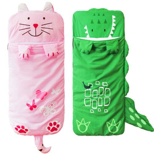 Cute Warm Cotton Camping Bag Kids Cartoon Children/'s Sleeping Bags Anti-Kicking
