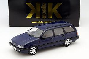 Volkswagen-VW-Passat-B3-Variante-Anno-di-Costruzione-1988-Blu-1-18-Kk-Scale