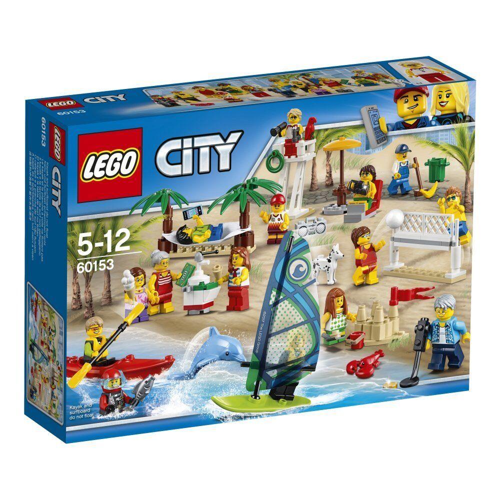 LEGO LEGO LEGO City 60153 Divertimento in Spiaggia costruzioni mattoncini 010572