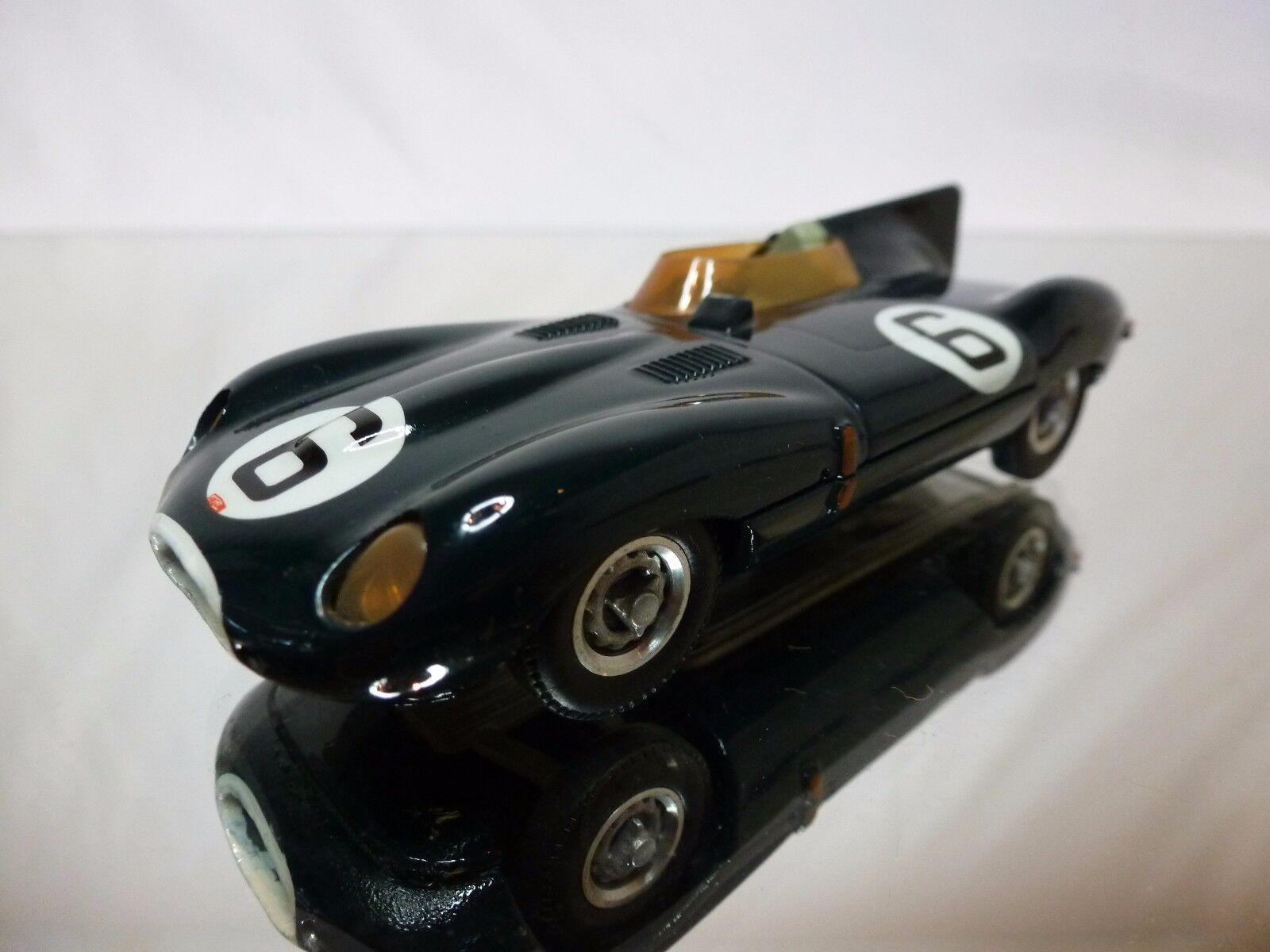 Westliche modelle - kit (erbaut) jaguar d-type 1954 - 1 43 guten zustand